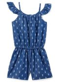 6 Units of Girls' Denim Romper in Size 2T-4T - Girls Dresses and Romper Sets
