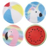 24 Units of Assorted Summer Themed Flying Disc - Summer Toys