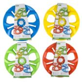 24 Units of Light Up Flying Disc - Summer Toys