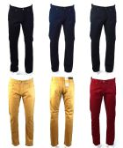 120 Units of Mens Slim Jeans Solid Assorted Colors Value Deal - Mens Jeans