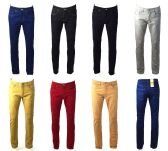 120 Units of Mens Skinny Jeans Solid Assorted Colors Value Deal - Mens Jeans
