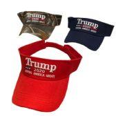 36 Units of Visor Trump Make America Great Again - Fedoras, Driver Caps & Visor