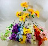 36 Units of 6 Head Flower - Artificial Flowers