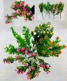 36 Units of 7 Head Flower Plastic - Artificial Flowers