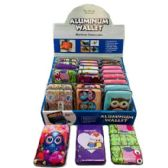 36 Units of Aluminum Wallet Owls - Wallets & Handbags