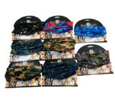 36 Units of MultiPurpose Head Buff Camo - Bandanas