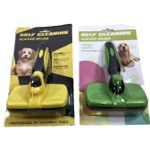 10 Units of Self Cleaning Slicker Pet Brush - Pet Grooming Supplies