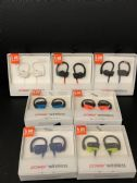 6 Units of POWER 3 WIRELESS - Headphones and Earbuds