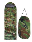 12 Units of ADULTS SLEEPING BAG CAMOUFLAGE PRINT - Camping Sleeping Bags