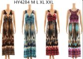 12 Units of Long Maxi Summer Dresses with Lace Back - Womens Sundresses & Fashion