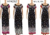 12 Units of Floral Maxi Long Dresses Assorted - Womens Sundresses & Fashion
