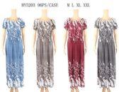 96 Units of Floral Scoop Neck Long Dresses - Womens Sundresses & Fashion