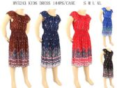 144 Units of Ruffle Top Kids Medium Summer Dresses - Womens Sundresses & Fashion
