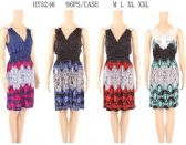 96 Units of Short Summer Dresses with lace back - Womens Sundresses & Fashion
