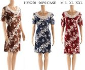 96 Units of Cold Shoulder Short Sleeve Floral Dresses with Lace - Womens Sundresses & Fashion