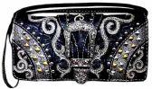 6 Units of Western Buckle Wallet Purse Black - Shoulder Bags & Messenger Bags