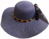 36 Units of Ladies Hat Braided Brim - Sun Hats