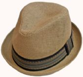36 Units of Men Fedora Hat with Band - Fedoras, Driver Caps & Visor