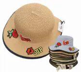 36 Units of Womens Tattoo Straw Sun Hat - Sun Hats