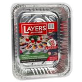 60 Units of Aluminum Roasters Baking Pans Holiday Layers - Aluminum Pans