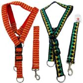 "24 Units of 48"" Cushioned Leash & Harness Set-Extra Large [Pattern] - Pet Collars and Leashes"