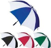24 Units of Two-Toned Golf Umbrellas - Umbrellas & Rain Gear