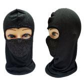 24 Units of Ninja Face Mask [Black Only] - Unisex Ski Masks
