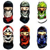 24 Units of Ninja Face Mask [Graphic Skull] - Unisex Ski Masks