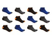 240 Units of Alberto Cardinali Mens No Show Low Cut Sport Ankle Socks - Mens Ankle Sock