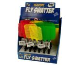 24 Units of Telescopic Fly Swatter Countertop Display - Pest Control