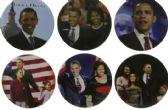 144 Units of Obama Pins - Hat Pins & Jacket Pins