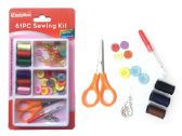 144 Units of Sewing Kit 61pc/Set - Sewing Supplies