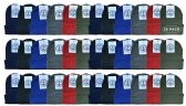 36 Units of Yacht & Smith Kids Winter Beanie Hat Assorted Colors Bulk Pack Warm Acrylic Cap (36 Pack Assorted B) - Winter Beanie Hats