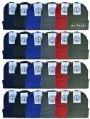 24 Units of Yacht & Smith Kids Winter Beanie Hat Assorted Colors Bulk Pack Warm Acrylic Cap (24 Pack Assorted B) - Winter Beanie Hats