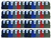 144 Units of Yacht & Smith Kids Winter Beanie Hat Assorted Colors Bulk Pack Warm Acrylic Cap (144 Pack Assorted B) - Winter Beanie Hats