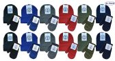 24 Units of Yacht & Smith Wholesale Kids Beanie and Glove Sets (Beanie Mitten Set, 24) - Bundle Care sets