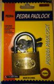 72 Units of 38MM Brass Padlock In Blister Card - Padlocks and Combination Locks