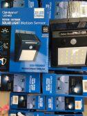 24 Units of Solar Power Light Motion Sensor, Indoor Outdoor Use - Garden Decor
