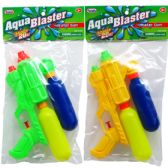 "48 Units of 9.5"" TWO-TANK WATER GUN IN POLY BAG W/HEADER 3 ASSRT CLRS - Water Guns"