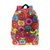 "24 Units of 17"" Kids Classic Padded Backpacks in DONUT Print - Backpacks 17"""