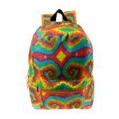 "24 Units of 17"" Wholesale Kids Classic Padded Backpacks in TIDYE Print - Backpacks 17"""
