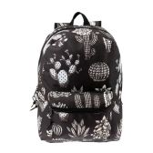 "24 Units of 17"" Kids Classic Padded Backpacks in CACTUS Prin - Backpacks 17"""