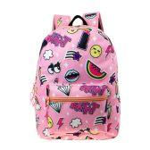 """24 Units of 17"""" Kids Classic Padded Backpacks in UNI Print - Backpacks 17"""""""