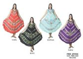 24 Units of Woman's Tie Dye Rayon Umbrella Dress - Womens Sundresses & Fashion