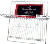 8 Units of Chrome Dish Rack Fork And Spoon Design - Dish Drying Racks