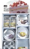 96 Units of Tinplate Assorted Bakeware Display - Frying Pans and Baking Pans