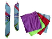 72 Units of 4 Piece Microfiber Cleaning Cloth - Kitchen Aprons