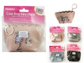 288 Units of Coin Purse W/Keychain - Coin Holders & Banks