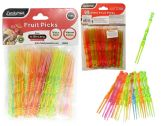 144 Units of 75 Pc Fruit Picks - Kitchen Utensils