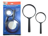 48 Units of 2 Piece Magnifying Glass - Magnifying  Glasses